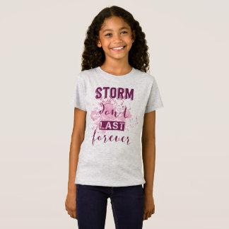Inspiring Storm Don't Last Forever | Jersey Shirt