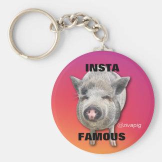 Insta-Famous Key Ring