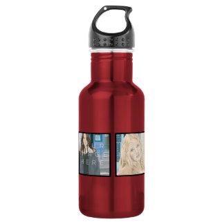 Instagram 4 Photo Aluminum 532 Ml Water Bottle