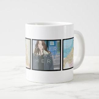 Instagram 4-Photo Personalised Custom Jumbo Mug