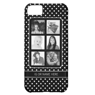Instagram 6 Selfies Photos Collage iPhone 5C Case