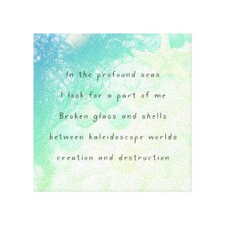 INSTAGRAM: Kaleidoscope Canvas Print