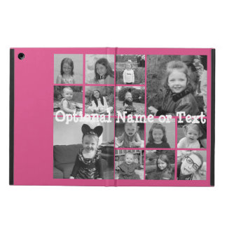 Instagram Photo Collage - Up to 14 photos Pink Case For iPad Air