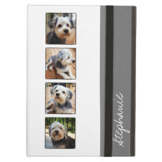 Instagram Photo Collage - white gray iPad Air Covers