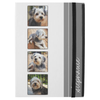 "Instagram Photo Collage - white gray iPad Pro 12.9"" Case"