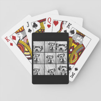 Instagram Photo Collage with 9 photos Playing Cards