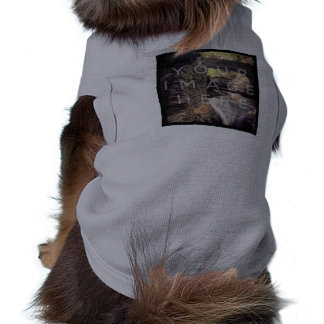 Instagram Photo Personalized Gray Pet Clothing
