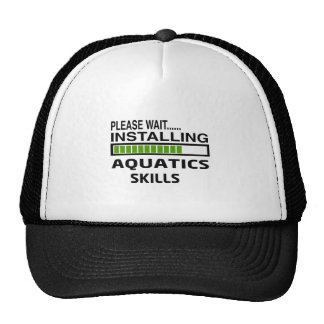 Installing Aquatics Skills Trucker Hat