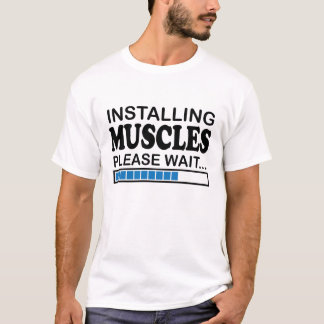 Installing Muscles Fitness T-shirt