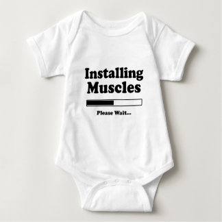Installing Muscles Funny shirt