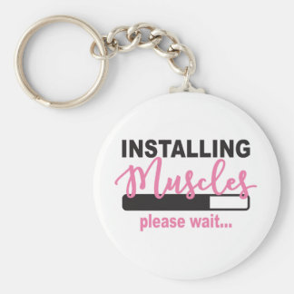 Installing Muscles Please Wait Key Ring