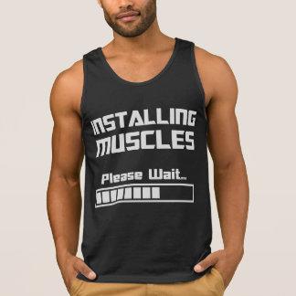 Installing Muscles Please Wait Loading Bar Singlet