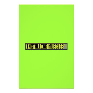 Installing muscles workout Zh1sq 14 Cm X 21.5 Cm Flyer