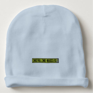 Installing muscles workout Zh1sq Baby Beanie