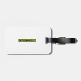Installing muscles workout Zh1sq Luggage Tag