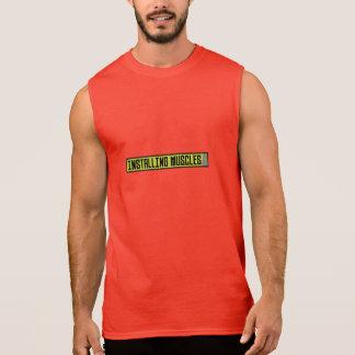 Installing muscles workout Zh1sq Sleeveless Shirt