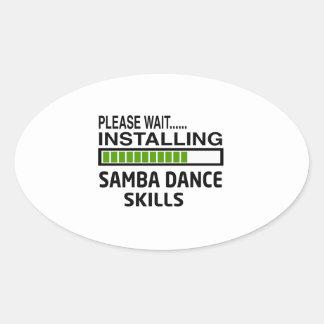 Installing Samba Dance Skills Stickers