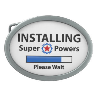 INSTALLING Super Powers Belt Buckle