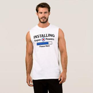 INSTALLING Super Powers Sleeveless Shirt