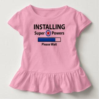 INSTALLING Super Powers Toddler T-Shirt