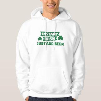 Instant irish just add beer hoodie