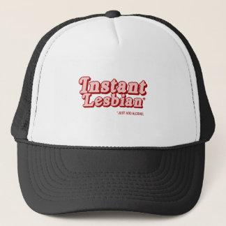 Instant Lesbian Trucker Hat
