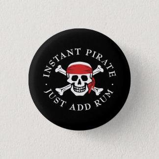Instant Pirate 3 Cm Round Badge