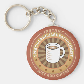 Instant Speech-Language Pathologist Key Ring