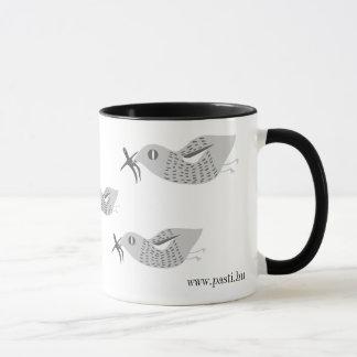 Instead of a stork... mug