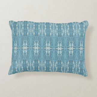 'Instinct' Blue and Grey Pattern Decorative Cushion