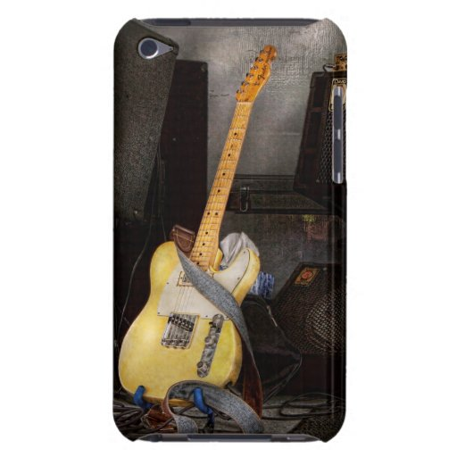 Instrument - Guitar - Playing in a band iPod Touch Cases