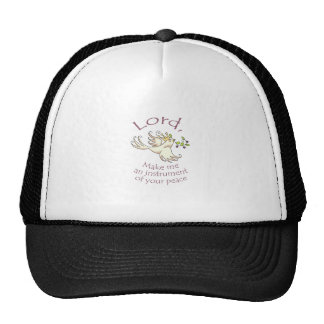 INSTRUMENT OF PEACE TRUCKER HAT