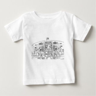 Instrument Panel Baby T-Shirt