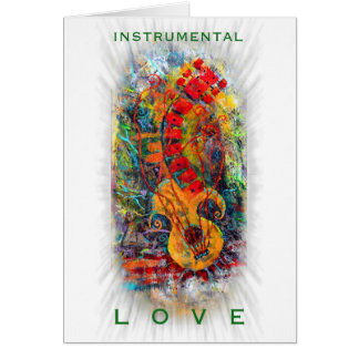 Instrumental Love Design #8 Card