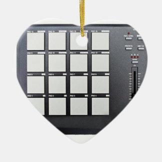 Instrumentals MPC Ceramic Heart Decoration