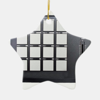 Instrumentals MPC Ceramic Star Decoration