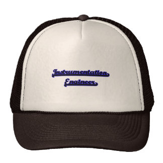 Instrumentation Engineer Classic Job Design Cap