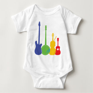 Instruments Color Baby Bodysuit