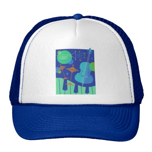 Instruments Design Trucker Hats