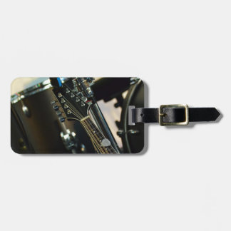 Instruments Music Drums Guitar Musical Instrument Luggage Tag