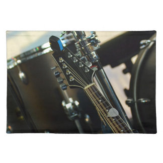 Instruments Music Drums Guitar Musical Instrument Placemat