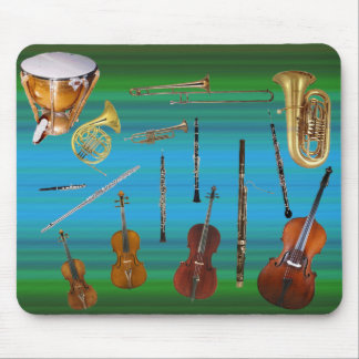 Instruments of the Orchestra Mouse Pad