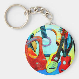 Instruments of torture basic round button key ring