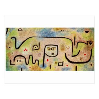 Insula Dulcamara by Paul Klee Postcard