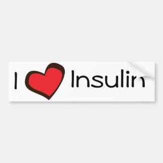 Insulin Bumper Sticker