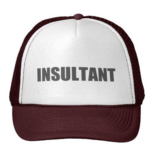 Insultant Mesh Hat