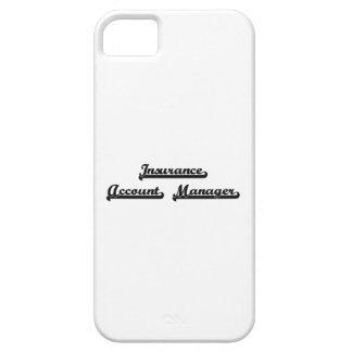 Insurance Account Manager Classic Job Design iPhone 5 Case