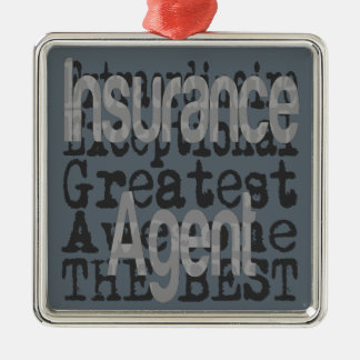 Insurance Agent Extraordinaire Metal Ornament