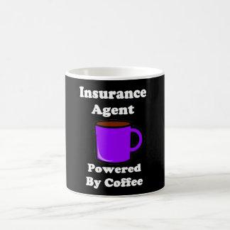 """""""Insurance Agent"""" Powered by Coffee Coffee Mug"""