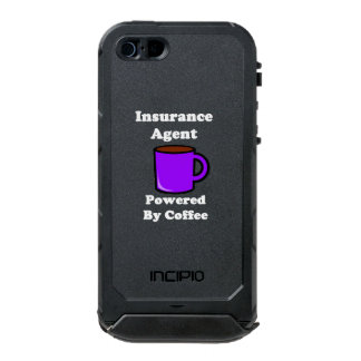"""Insurance Agent"" Powered by Coffee Incipio ATLAS ID™ iPhone 5 Case"